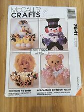 Uncut McCall's Crafts Pattern #7641 Dreams 'N Delights Original Treat  Baskets