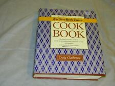 1990 NEW YORK TIMES GOURMET CLAIBORNE RECIPES COOKBOOK COOK BOOK RECIPE KITCHEN