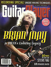 GUITAR PLAYER March 2012 BRIAN MAY Play Like Steve Vai Lesson TAB