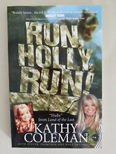 LAND OF THE LOST Kathy Coleman autographed book RUN, HOLLY, RUN!
