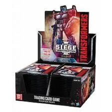 TRANSFORMERS TCG CYBERTRON SIEGE I BOOSTER BOX (30 PACKS) BRAND NEW ~ CLEARANCE