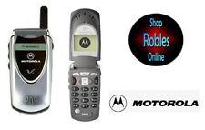 Motorola V60i Silver (Ohne Simlock) TriBand GPRS Original Motorola Sehr Gut OVP