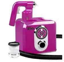 Sunless Spray Tan Tanning Gun Machine Kit Pink Quiet Motor Fine Mist Fast Drying