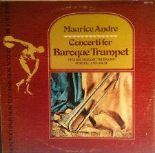 Maurice Andre - Concerti For Baroque Trumpet - Sine Qua Non - 1973 - Vinyl