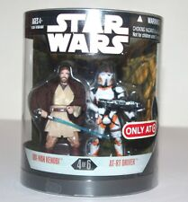 Star Wars l'ordre 66 figure-obi-wan kenobi + AT-RT driver-Série 1 (4/6)
