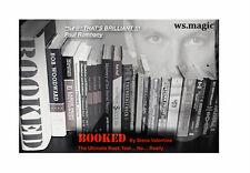 Booked by Steve Valentine Magic Close Up Street Mentalism Magic Trick
