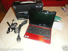 Acer Aspire ONE ZG8 / 531 Netbook, 250GB HDD, 1GB RAM, 1,6GHz, Win7, Garantie
