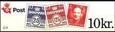 DANIMARCA - Libretti per distributori automatici da 10 Kr. - 1991