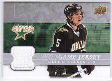 08-09 Upper Deck Matt Niskanen UD Game Jersey Card