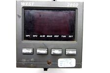 Usato WEST INSTRUMENTS M2800 Temperatura Controllo Occidente 2800