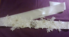Bridal Sash Belt,  Bridal Dress Belt  Bridal wedding dress Belt Crystal Pearl