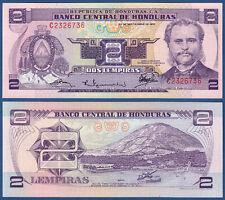Honduras 2 lempiras 23.9.1976 UNC p. 61