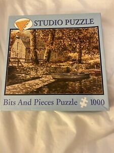 Pond at Grist Mill 1000 pc Puzzle Bits and Pieces