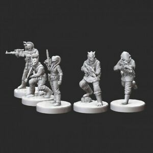Star Wars Legion - Alien Pathfinder Squad (5) 3D Resin Printed Unit