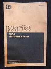 Genuine Caterpillar 3306 Engine Part Catalog 380+ Pages Ser. #3N1-3N24132