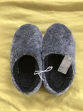 Matalan - Boys Slippers/Mules - Size 2 - Junior - Grey - BNWT