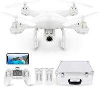 Potensic T25 GPS Drone WiFi FPV RC Quadcopter 1080P HD Camera with Carrying Case