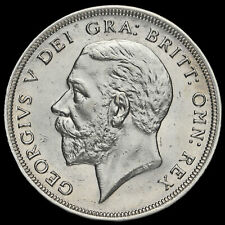 1929 George V Silver Wreath Crown, Scarce, G/EF
