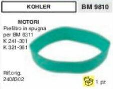 2408302 SPUGNA PER FILTRO ARIA MOTORE KOHLER K241 K301 K321 K361