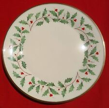 "Lenox China Holiday (Dimension) 10.5"" DINNER PLATE - MINT CONDITION!!!"