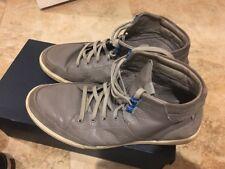 Cole Haan Owen Men's High Top Berkeley Sneakers Size 8.5 Steel Grey, Comfortable
