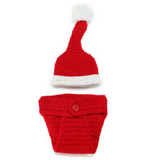 Christmas 0-6 months knitted suit photography suit props