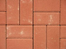 (10,57 Euro/m²) Betonpflaster Pflastersteine, rot 10x20x6