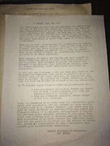 MAI 1968. TRACT . A PROPOS DES EXAMENS . COMITÉ D'ACTION DE RUEIL.