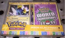Pokemon EX WORLD CHAMPIONSHIPS 2006 MEWTRICK Deck Box Set Out Of Print RARE! MEW