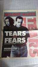 Melody Maker Clippings 1989 Tears For Fears, Stone Roses