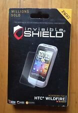 ZAGG Invisible Shield/ Screen Protector for HTC Wildfire Screen