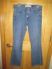 Womens LEVI STRAUSS 515 NOVEAU BOOT CUT Stretch Blue Jeans Sz 8 M