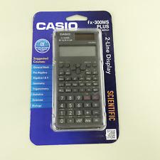 Casio FX-300MS PLUS 2nd Edition Trigonometric/Inverse Calculator #7290