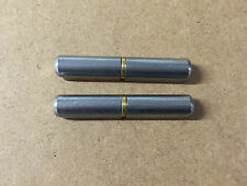 2 x Lift Off Bullet Hinges 60mm Weld On Carbon Steel Truck Trailer Vehicle