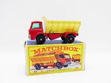 "LOT 33386 | Matchbox 70 B Grit-Spreading Truck LKW sehr schön in ""E""-Box"