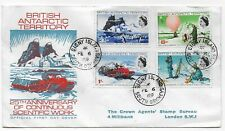 BRITISH ANTARCTIC TERRITORY 1969 SIGNY SOUTH ORKNEYS FIRST DAY COVER