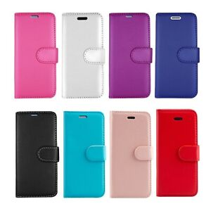 FOR SAMSUNG GALAXY A10 A12 M10 & MORE MODELS WALLET BOOK CARD CASH SLOTS COVERS