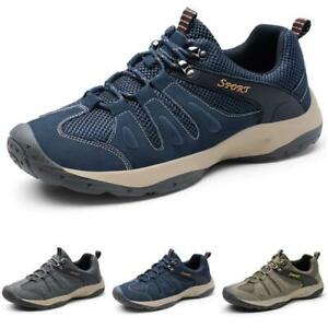 Mens Breathable Sports Non-slip Casual Outdoor Hiking Climbing Sneakers Shoes L