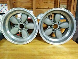 American Racing 200s Daisy Wheels 15x8.5 fits Shelby Mustang Boss 302 Cuda Mopar