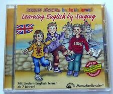 Detlev Jöcker - Learning English By Singing (2004) CD, Kinderlieder, gebraucht