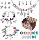 Charm Bracelet Making Kit 63 Pcs Jewelry Making Kit With Beads Bracelet DIY