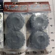 "Rc4wd Mud Slinger 1.0"" Scale Tires Set Of 4 Tires scx24 1/24 1.0 mudslingers"