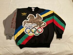 Vintage Adidas Olympic Sweatshirt Size Small