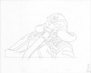 Heavy Metal 2000 F.A.K.K.² Original Production Animation Cel Drawing B3164