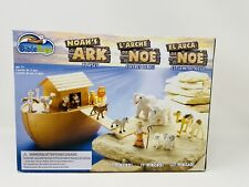 Christian Bible Toys Noah's Ark Playset with Noah, Animals & Ark Bath Toy