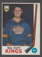 1969-70 O-Pee-Chee Los Angeles Kings Hockey Card #102 Bill Flett