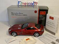 1:18 CMC Mercedes-Benz SLR McLaren 2003 - (M-045A) BAD A$$- RARE Fine.