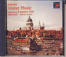 """Handel - Lamon, Tafelmusik: Water Music, Suite """"Il Pastor Fido"""" (Sony) Like New"""