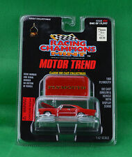 Racing Champions Mint Motor Trend 1968 Plymouth #94 Red Car Emblem Stand 1997