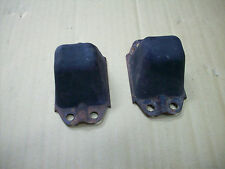 MGB REAR AXLE FRAME RUBBER BUMPERS STOPPERS ORIGINAL IN GOOD CONDITION